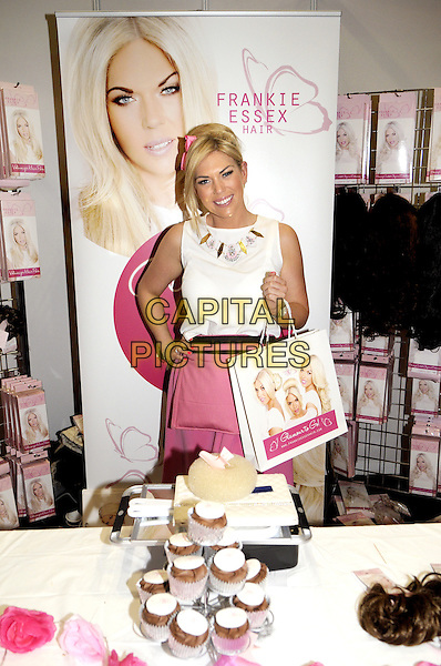 LONDON, ENGLAND - FEBRUARY 24: Frankie Essex attends the Professional Beauty Show London 2014 at London ExCeL, on February 24, 2014 in London, England.<br /> CAP/BK/PP<br /> &copy;Bob Kent/PP/Capital Pictures