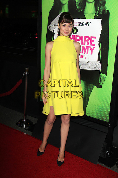 LOS ANGELES, CA - February 04: Olga Kurylenko at the &quot;Vampire Academy&quot; Los Angeles Premiere, Regal Cinemas, Los Angeles,  February 04, 2014. <br /> CAP/MPI/JO<br /> &copy;JO/MPI/Capital Pictures