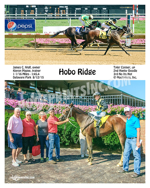Hobo Ridge winning at Delaware Park on 8/12/15