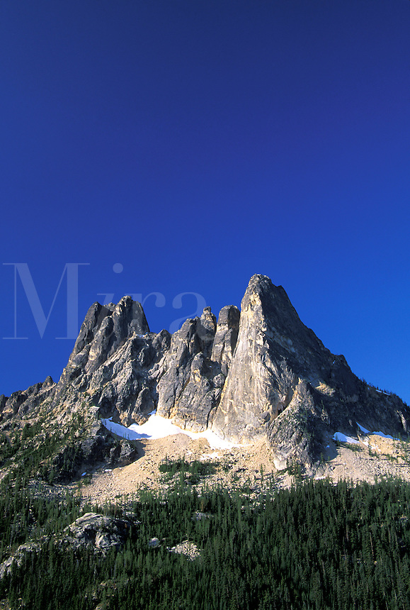 Liberty Bell Mountain, Washington Pass Overlook, North Cascades, Washington