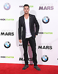 James Maslow attends The Warner Bros. L.A. Premiere of Veronica Mars Movie held at The TCL Chinese Theatre in Hollywood, California on March 12,2014                                                                               © 2014 Hollywood Press Agency