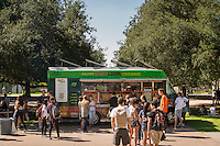 Food truck in the quad, Oct. 22, 2015.<br />