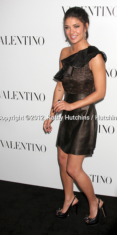 LOS ANGELES - MAR 27:  Jessica Szohr Valentino Beverly Hills Opening at the Valentino Store on March 27, 2012 in Beverly Hills, CA