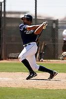 Robert Lara - San Diego Padres - 2009 spring training.Photo by:  Bill Mitchell/Four Seam Images