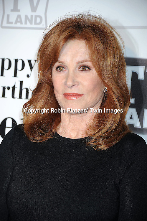 "Stefanie Powers attending Betty White's 89th Birthday party given by TV Land and the cast of ""Hot in Cleveland"" on January 18, 2011 at .Le Cirque in New York City."