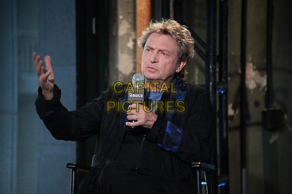 NEW YORK - MARCH 18: Andy Summers of The Police talks about his new documentary 'Can't Stand Losing You: Surviving the Police' at AOL BUILD Speaker Series at AOL Headquarters in New York City on March 18, 2015. <br /> CAP/MPI/MPI99<br /> &copy;MPI99/MPI/Capital Pictures
