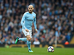 David Silva of Manchester City during the premier league match at the Etihad Stadium, Manchester. Picture date 7th April 2018. Picture credit should read: Simon Bellis/Sportimage