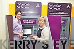 new lodgement machine at AIB Tralee