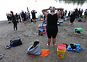 The Kitsap Tri-Babes group is growing with regular practices at Wildcat Lake.  Tri-Babe Alyssa Bowman joined swimmers for the season and trained with swim angel Sandy Willoughby.  Brad Camp | For the Kitsap Sun