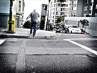 "Crossing<br /> From ""Color Blind"" series. San Francisco, 2007"