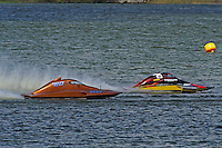 "Gene DeFalco, S-80 ""On The Edge"" and Brandon Kennedy, S-25 ""Shameless"" (2.5 Litre Stock hydroplane(s)"