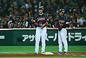 (L to R) .Seiichi Uchikawa (JPN), . Koichi Ogata (JPN), .FEBRUARY 28, 2013 - WBC : .2013 World Baseball Classic .Exhibithion Game .between Tokyo Yomiuri Giants 1-6 Japan .at Yafuoku Dome, Fukuoka, Japan. .(Photo by YUTAKA/AFLO SPORT)