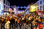 Christmas parade in Killarney on Saturday night.