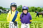 l-r  Michael Sheehy and Conor Walsh. enjoying the  Castleisland races in Powells road Castleisland on Saturday