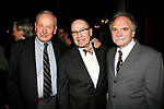 (L toR) A.R. Gurney (playwright, &ldquo;Indian Blood&rdquo;), honoree Jack O&rsquo;Brien and Willy Holtzman (playwright, &ldquo;Something You Did&rdquo;)<br />