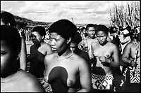 Swaziland, Umhalanga la cerimonia delle vergini