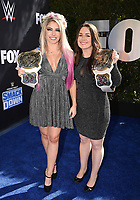 """LOS ANGELES - OCTOBER 4: Alexa Bliss attends the kick-off event for the """"WWE Friday Night Smackdown on FOX"""" at Staples Center on October 4, 2019 in Los Angeles, California. (Photo by Frank Micelotta/Fox Sports/PictureGroup)"""
