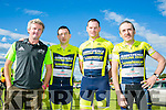 l-r  John Carmody, Terence Rattigan, Padraig O'Donnell and Liam Flynn. at the Finuge Freewheelers  Ring of North Kerry 2016 Cycle on Saturday