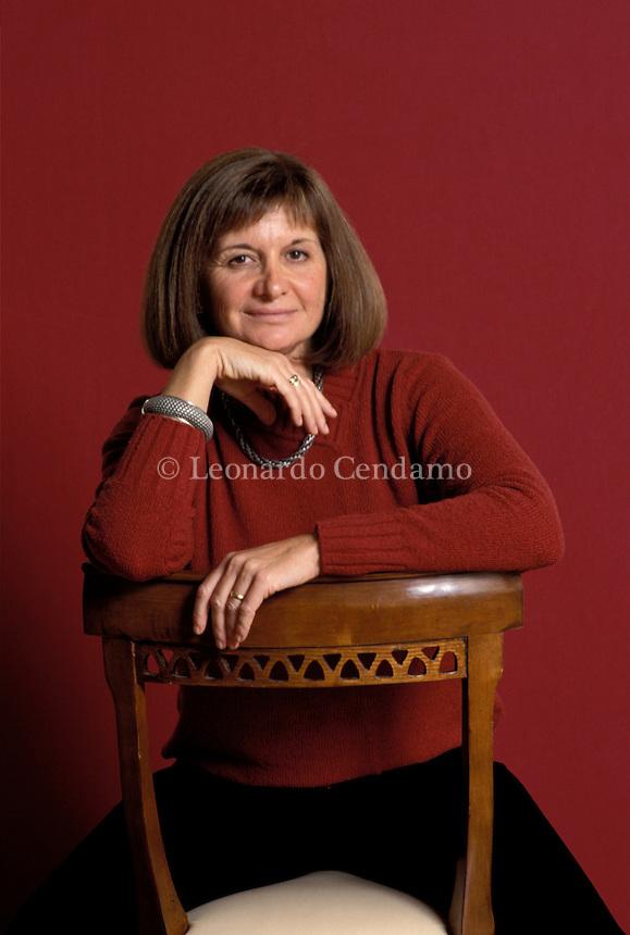 2001: A. GIMENEZ BARTLETT, WRITER  © Leonardo Cendamo