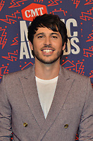 NASHVILLE, TN - JUNE 5: Morgan Evans attends the 2019 CMT Music Awards at Bridgestone Arena on June 5, 2019 in Nashville, Tennessee. (Photo by Tonya Wise/PictureGroup)