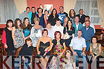 0538-0541.---------.49 again.--------.Bridget O'Reilly(seated centre)from Shanakil,Tralee,celebrated her 50th birthday last Saturday night in the Imperial Hotel,Denny St,Tralee,with a massive bash with her family and friend's.