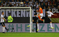 Kopfballchance Matthijs de Ligt (Niederlande, Netherlands) - 06.09.2019: Deutschland vs. Niederlande, Volksparkstadion Hamburg, EM-Qualifikation DISCLAIMER: DFB regulations prohibit any use of photographs as image sequences and/or quasi-video.