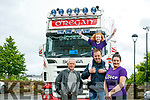 The Launch of the  CF truck run on July 15th starting at the Rose Hotel 1pm Pictured Tony Nolan, Matt O'Regan, Hannah O'Connell and  Marisa Reidy