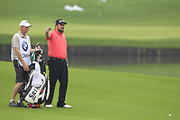 Shane Lowry (IRL) prepars to play his 2nd shot on the 11th hole during Friday's Round 2 of the 2014 BMW Masters held at Lake Malaren, Shanghai, China 31st October 2014.<br /> Picture: Eoin Clarke www.golffile.ie