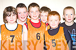 Brosna under thirteen soccer team who took part in the Community Games indoor Soccer Tournament at Mountcoal Listowel on Sunday.  Eoin Relihan, Eamon Prendiville, Timmy Finnegan, Kieran O'Donnell, Joseph Brosnan and Ian Walsh...