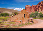 Gifford Barn, Gifford Homestead, Fruita, Capitol Reef National Park, Utah