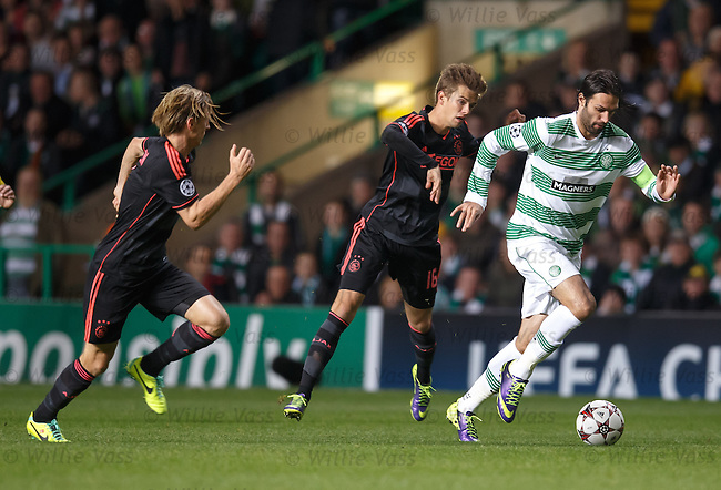 Georgios Samaras on the attack