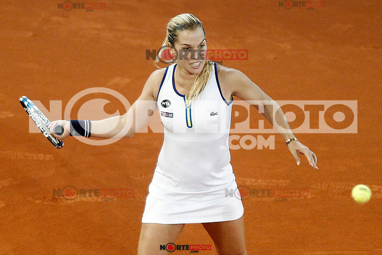 Dominika Cibulkova, Slovakia, during Madrid Open Tennis 2016 Final match.May, 7, 2016.(ALTERPHOTOS/Acero) /NortePhoto.com