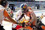 austin. tejas. USA. motociclismo<br /> GP in the circuit of the americas during the championship 2014<br /> 12-04-14<br /> En la imagen :<br /> qualifying Moto GP<br /> dani pedrosa<br /> photocall3000 / rme