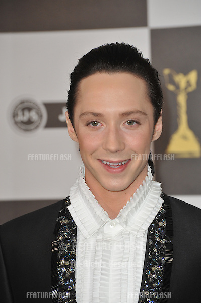 Johnny Weir at the 25th Anniversary Film Independent Spirit Awards at the L.A. Live Event Deck in downtown Los Angeles..March 5, 2010  Los Angeles, CA.Picture: Paul Smith / Featureflash