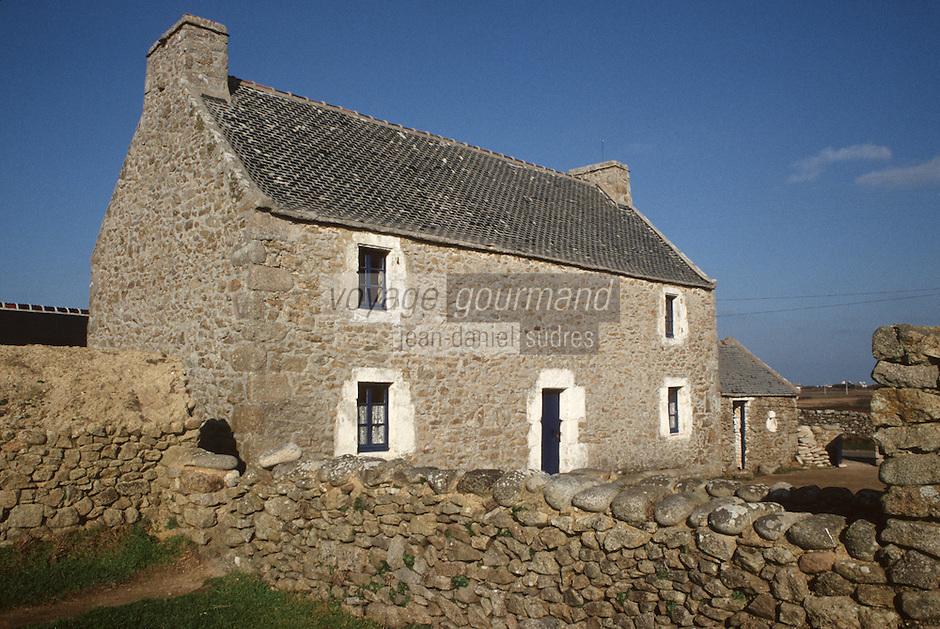 Europe/France/Bretagne/29/Finistère/Ile d'Ouessant: Ecomusée de NIOU: maison des techniques ouessantines
