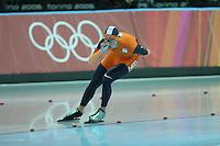 SCHAATSEN: TURIJN, Sven Kramer (NED), Olympische Spelen, ©foto Martin de Jong