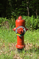 Fire hydrant, Vancouver island, British Columbia.