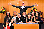 Bar Mitzvah Candle Lighting.Family Bar Mitzvah Photography.Temple Beth El, Northern Westchester...