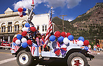 July 4th Parade, Festival, Ouray, Colorado