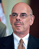 Washington, DC - July 14, 2009 -- United States Representative Henry  A. Waxman (Democrat of California), Chairman, U.S. House Committee on Energy and Commerce, makes remarks as he and fellow Democratic members of the U.S. House of Representatives unveil the America's Affordable Health Choice Act of 2009 during a press conference in the Rayburn Room of the U.S. Capitol on Tuesday, July 14, 2009..Credit: Ron Sachs / CNP