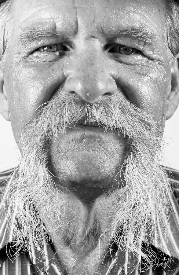 cowboy 7/25/09- Roger Pelkey, 60, of Apache Junction, participated in  Saturday's Wyatt Earp-Holliday Mustache Contest held at the Goldfield Ghost Tow in Apache Junction. The contest was held during their celebration for National Day of the Cowboy. (Pat Shannahan/ The Arizona Republic)