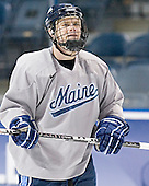 Rob Bellamy - The University of Maine Black Bears practiced on Wednesday, April 5, 2006, at the Bradley Center in Milwaukee, Wisconsin, in preparation for their April 6 2006 Frozen Four Semi-Final game versus the University of Wisconsin.