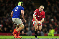 Ken Owens of Wales in action during the Guinness Six Nations Championship Round 3 match between Wales and France at the Principality Stadium in Cardiff, Wales, UK. Saturday 22 February 2020