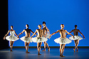 London, UK. 17.06.2014. Dada Masilo's SWAN LAKE at Sadler's Wells, as part of the Sadler's Sampled two week festival. Picture shows: The company. Photograph © Jane Hobson.