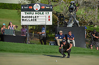 Matthew Wallace (ENG) looks over his putt on 18 during round 4 of the Arnold Palmer Invitational at Bay Hill Golf Club, Bay Hill, Florida. 3/10/2019.<br /> Picture: Golffile | Ken Murray<br /> <br /> <br /> All photo usage must carry mandatory copyright credit (© Golffile | Ken Murray)