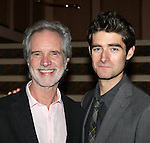 Bob Gaudio and Drew Gehling attend the reception for Frankie Valli and the Four Seasons  50th Anniversary Celebration & Broadway debut in 'The One. The Only. The Original.' at the Broadway Theatre on 10/19/2012 in New York City.