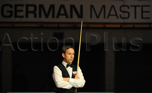 5th February 2017, The Tempodrom, Berlin, Germany; German Masters Final; Anthony Hamilton versus Allister Carter; Allister Carter plays against his compatriot Anthony Hamilton; Anthony Hamilton won the match 9-6