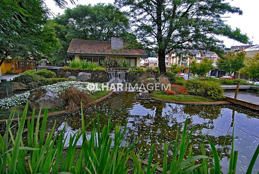 Jardim na cidade de Gramado. Rio Grande do Sul. 2008. Foto de Juca Martins.