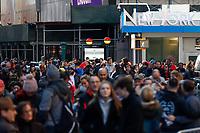 NOVA YORK, EUA, 29.12.2018 - NOVA YORK-EUA - Movimentação na Times Square nas vesperas do Reveillon de Nova York . (Foto: Vanessa Carvalho/Brazil Photo Press)