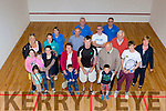 Irish internationals John Hurley and Brian Byrne traveled to Castleisland Community Centre on Satutday to officially open the new Squash court on Saturday